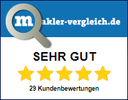 Unsere Kundenbewertungen auf makler-vergleich.de